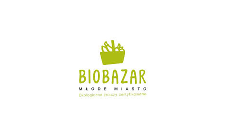 Zielone logo BioBazar