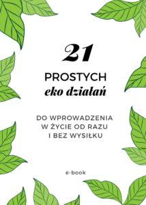 21 prostych eko działań e-book